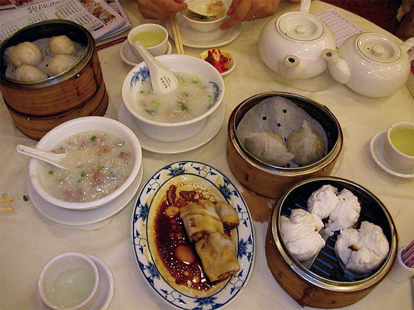 Dimsum breakfast
