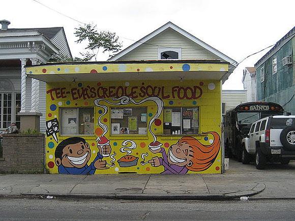 Tee Eva's Creole Soul Food, New Orleans