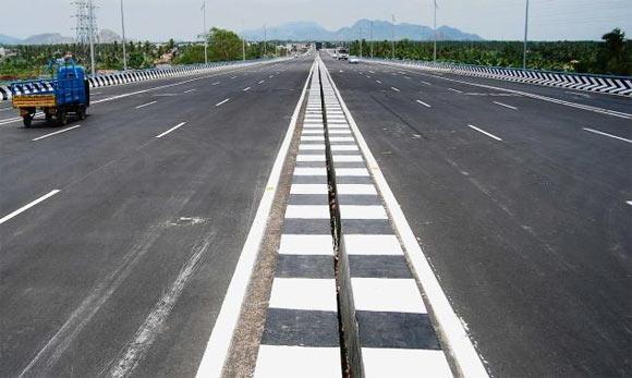 A highway in Bihar