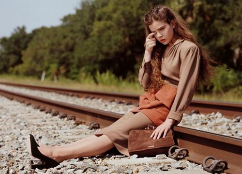 Hailee Steinfeld for Miu Miu