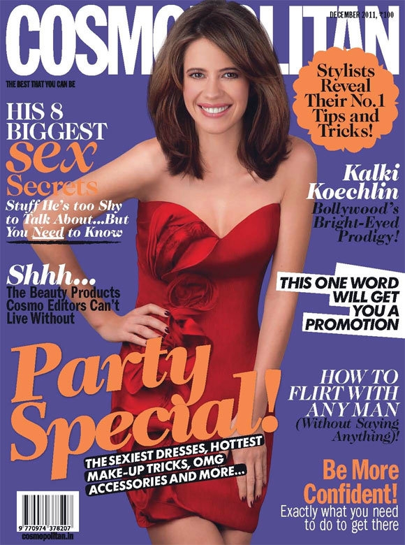 Kalki Koechlin on the cover of Cosmopolitan