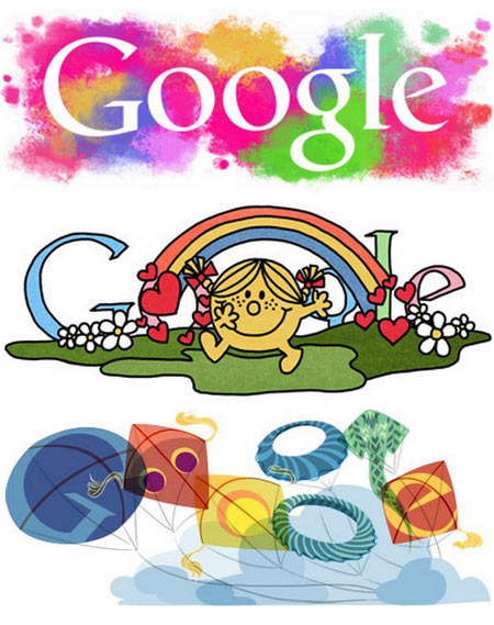 TOP 12: The best Google doodles of 2011