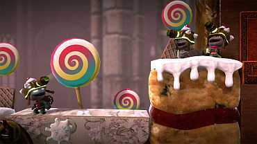A screenshot of LittleBigPlanet 2