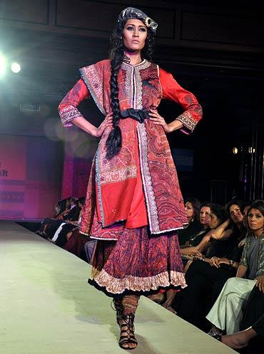 Surelee Joseph for Ritu Kumar