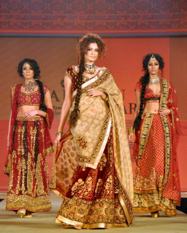 Binal Trivedi, Shonal Rawat and Surelee Joseph for Ritu Kumar