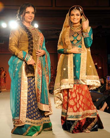 Shabana Azmi and Dia Mirza