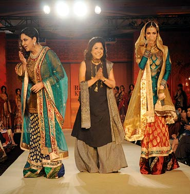 Shabana Azmi, Ritu Kumar and Dia Mirza