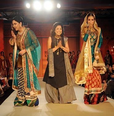 Shabana Azmi, Ritu Kumar and Dia Mirza