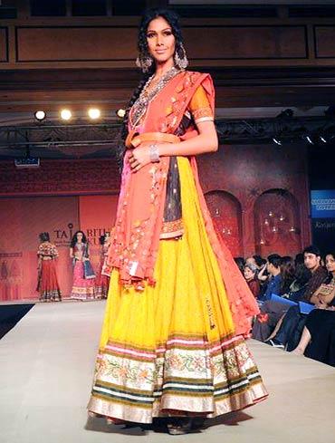 Nethra Raghuraman for Ritu Kumar