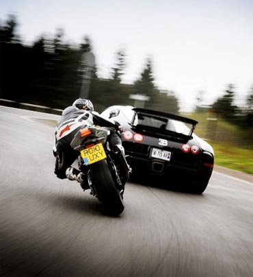 Fast cars and superbikes