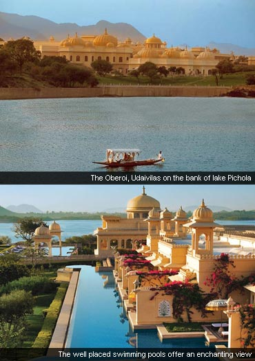 The Oberoi Udaivilas, Udaipur, Rajasthan