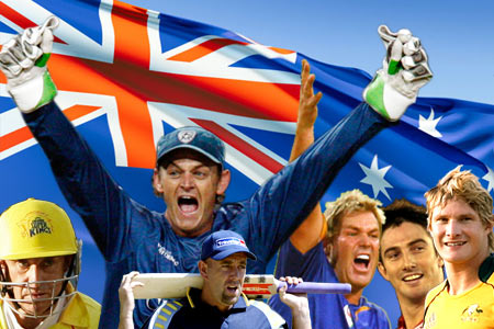 Australians it seems don't just love to play cricket but also love to experiment with food