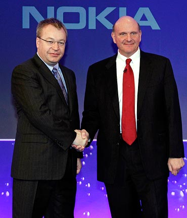 Nokia and Microsoft partner to make Nokia Windows Phones and global mobile ecosystem