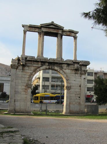 The Hadrian Arch
