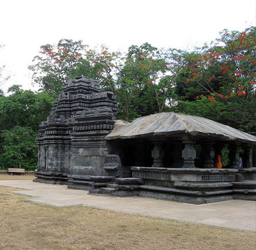 Mahadev Temple in Tambdi Surla