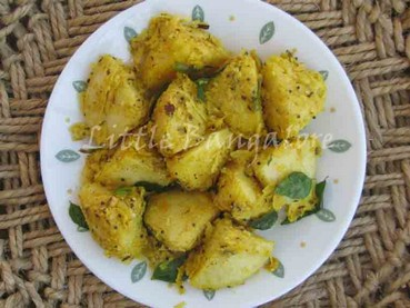 Fried Coconut Rawa Idli