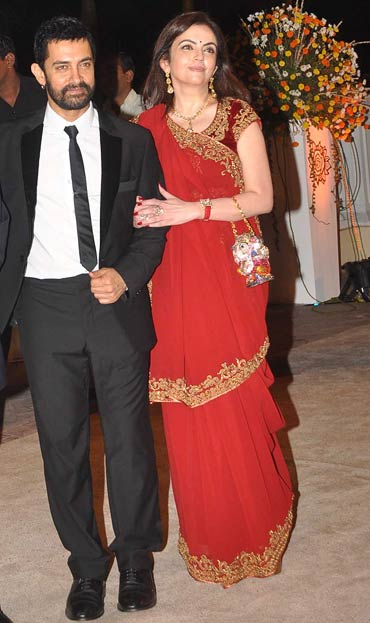 Aamir Khan and Nita Ambani