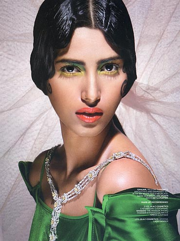Nisha Kutty for L'officiel