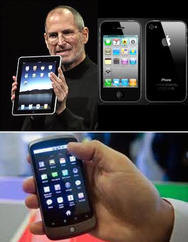 iPad, iPhone and Nexus