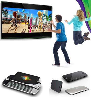 Gesture based gaming: Kinect, portable gaming system Ocomos