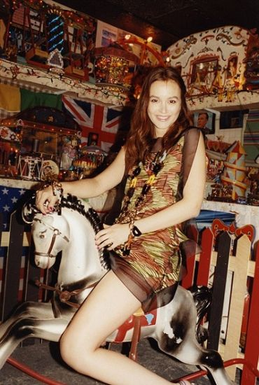 Leighton Meester for Missoni