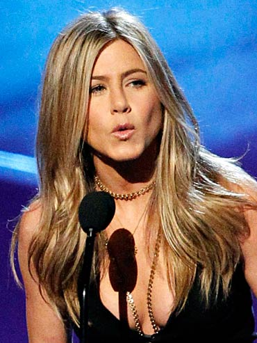 Jennifer Aniston at the People's Choice Awards