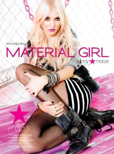 Taylor Momsen for Material Girl