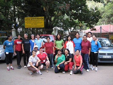 The 'Runner Girls' at one of the girls-only runs in Bengaluru