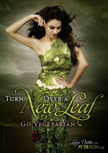 Lara Dutta for PETA
