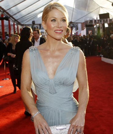 Actress Christina Applegate is a breast cancer survivor