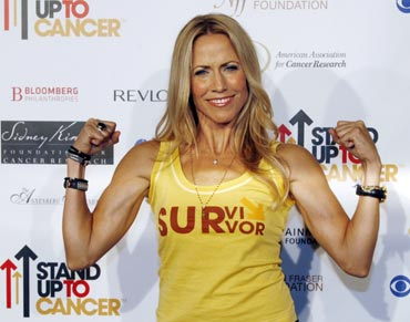 Singer Sheryl Crow is a breast cancer survivor