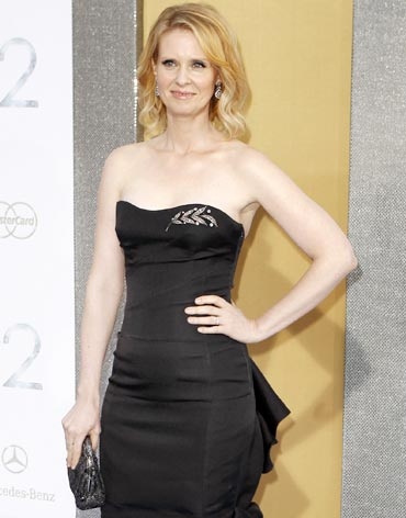 Sex and the City star Cynthia Nixon is a breast cancer survivor