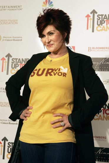 Sharon Osbourne is a surviver of colon cancer