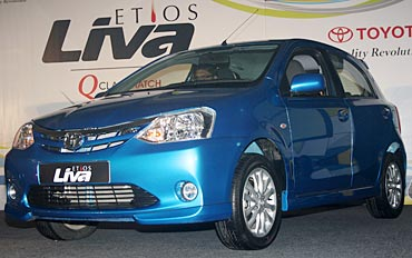PHOTOS: Toyota Liva gives Swift run for its money?