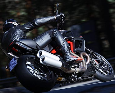 PHOTOS: The Ducati Diavel is finally here