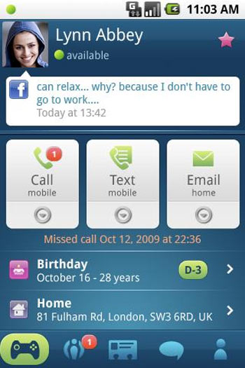 Android Phonebook 2.0