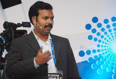 Krishna Prathab of Geo Socials