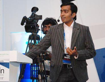Sagar Bedmutha of Optinno Mobitech Pvt Ltd