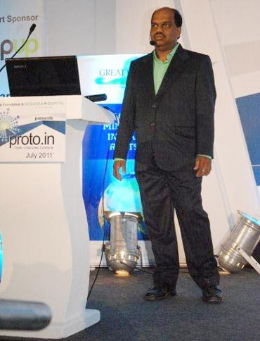 Santosh Ostwal of Ossian Agro Automation Pvt Ltd