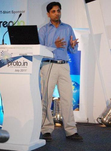Sumit Aggarwal of i2V Systems Pvt Ltd