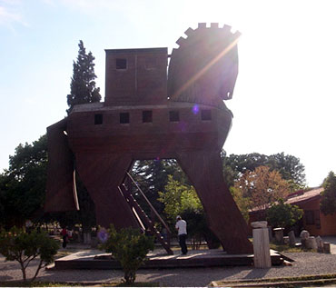 The legendary city of Troia
