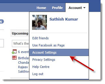 How to export Facebook information