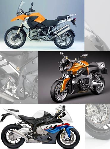 A collage of best BMW superbikes available in India