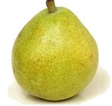 A pear before workout