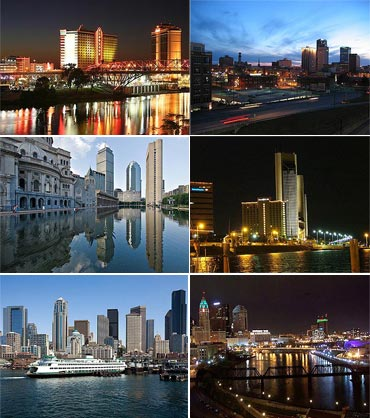 Popular cities in USA