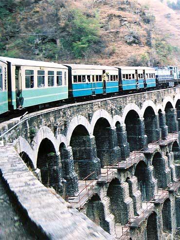 Shimla-Kalka railway line