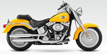Harley Davidson's Fatboy