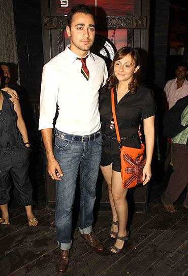 Imran and Avantika Malik Khan