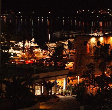 Budva at night