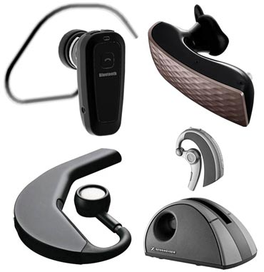 Bluetooth headset for cell phone